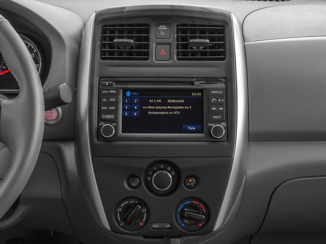 2016 Nissan Versa Prices and Values Sedan 4D SL I4 stereo system