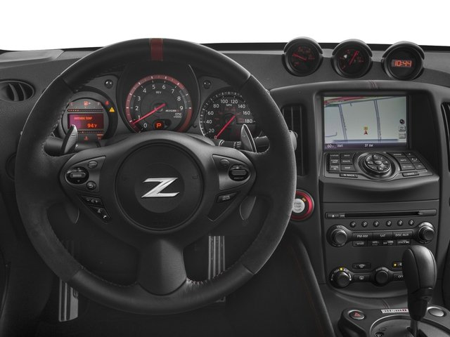 2016 Nissan 370Z Prices and Values Coupe 2D NISMO V6 driver's dashboard