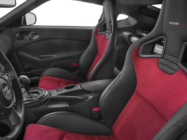 2016 Nissan 370Z Pictures 370Z Coupe 2D NISMO V6 photos front seat interior
