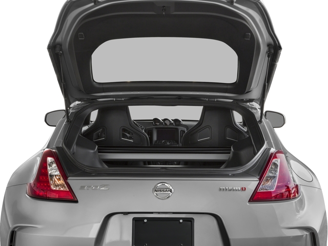 2016 Nissan 370Z Prices and Values Coupe 2D NISMO V6 open trunk