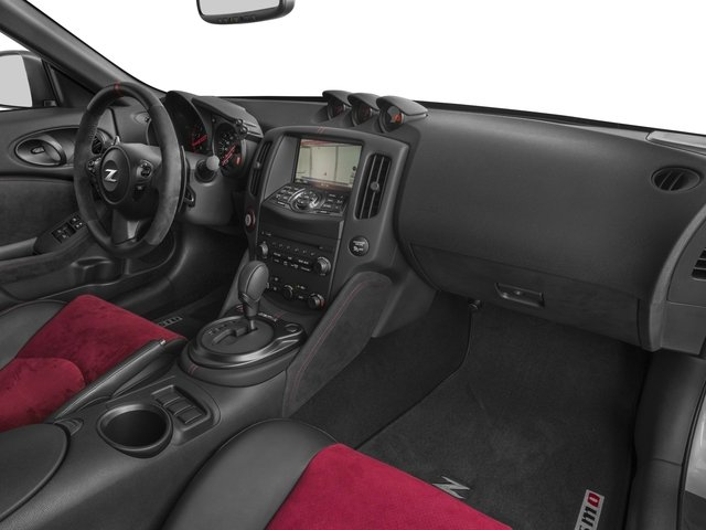 2016 Nissan 370Z Prices and Values Coupe 2D NISMO V6 passenger's dashboard