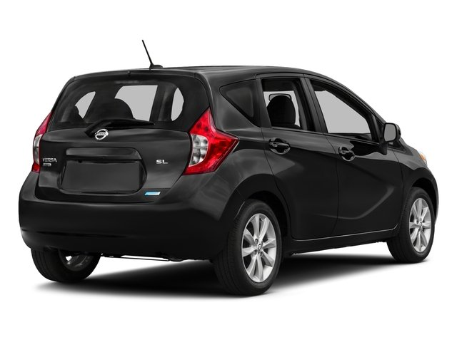 2016 Nissan Versa Note Prices and Values Hatchback 5D Note SL I4 side rear view