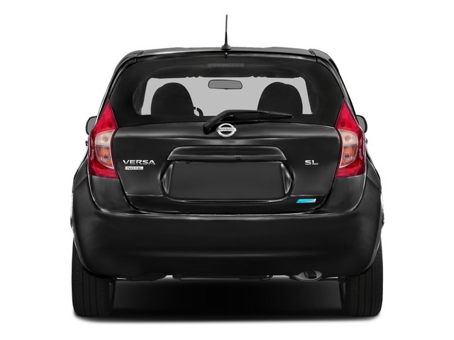 2016 Nissan Versa Note Prices and Values Hatchback 5D Note SL I4 rear view