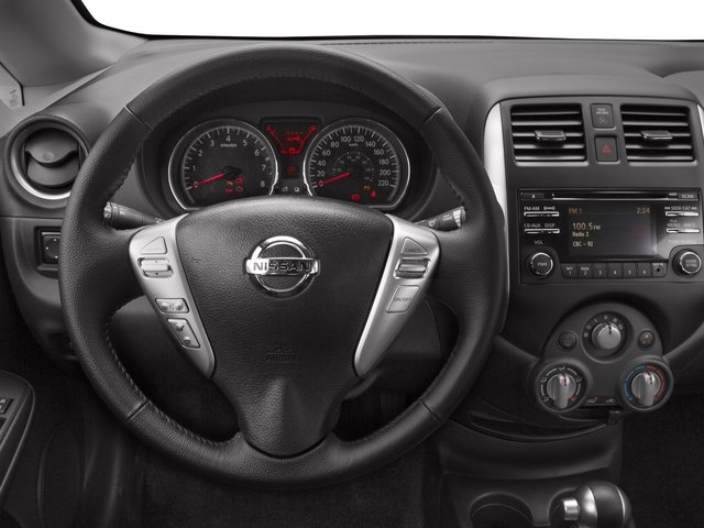 2016 Nissan Versa Note Prices and Values Hatchback 5D Note SL I4 driver's dashboard