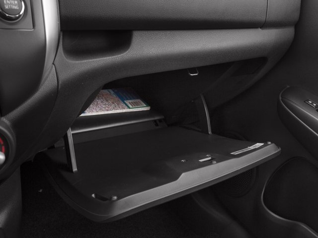 2016 Nissan Versa Note Prices and Values Hatchback 5D Note SL I4 glove box