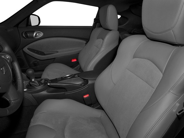 2016 Nissan 370Z Prices and Values Coupe 2D Sport Tech V6 front seat interior