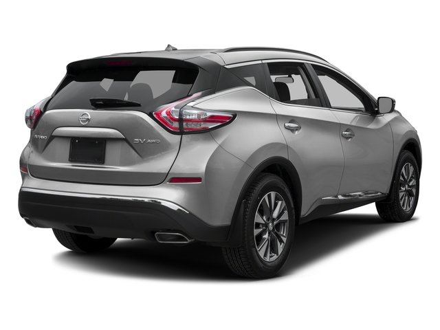 2016 Nissan Murano Prices and Values Utility 4D S 2WD V6 side rear view