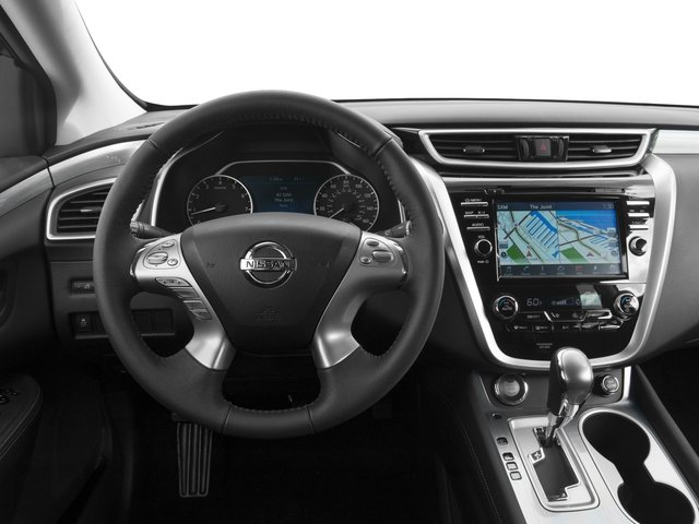 2016 Nissan Murano Prices and Values Utility 4D S 2WD V6 driver's dashboard
