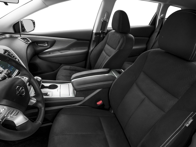 2016 Nissan Murano Prices and Values Utility 4D S 2WD V6 front seat interior