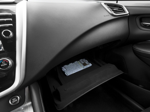 2016 Nissan Murano Prices and Values Utility 4D SV AWD V6 glove box