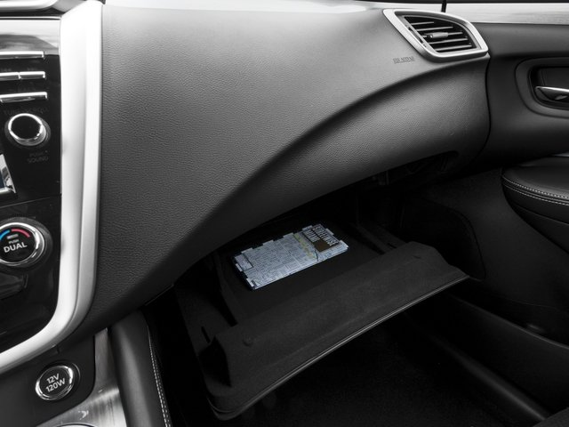 2016 Nissan Murano Prices and Values Utility 4D S 2WD V6 glove box