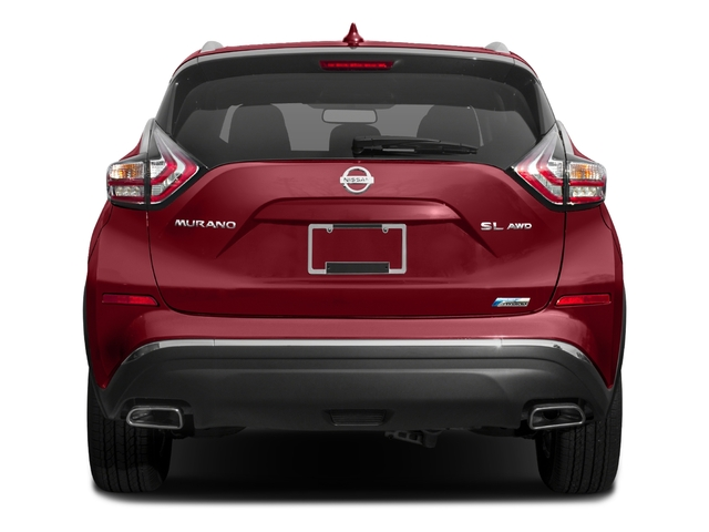 2016 Nissan Murano Prices and Values Utility 4D Platinum 2WD I4 Hybrid rear view