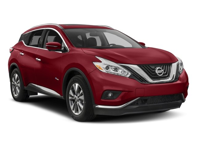 2016 Nissan Murano Prices and Values Utility 4D Platinum 2WD I4 Hybrid side front view