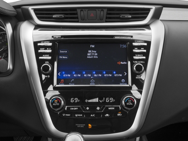 2016 Nissan Murano Prices and Values Utility 4D Platinum 2WD I4 Hybrid stereo system