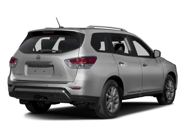 2016 Nissan Pathfinder Prices and Values Utility 4D SL 4WD V6 side rear view