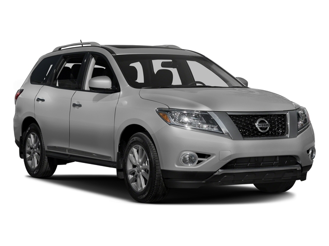2016 Nissan Pathfinder Prices and Values Utility 4D SL 4WD V6 side front view
