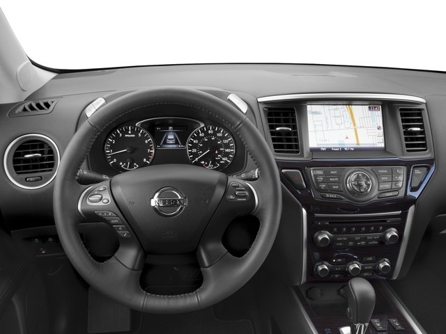 2016 Nissan Pathfinder Prices and Values Utility 4D SL 4WD V6 driver's dashboard