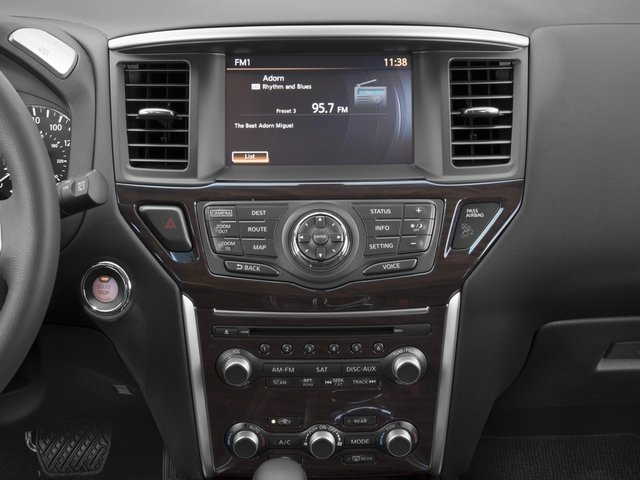 2016 Nissan Pathfinder Prices and Values Utility 4D SL 4WD V6 stereo system