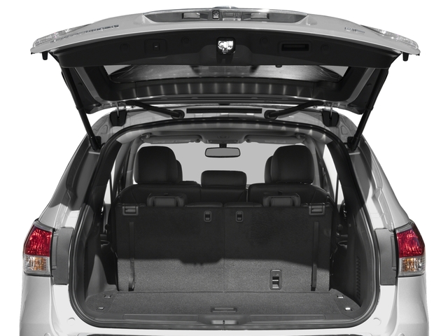 2016 Nissan Pathfinder Prices and Values Utility 4D SL 4WD V6 open trunk