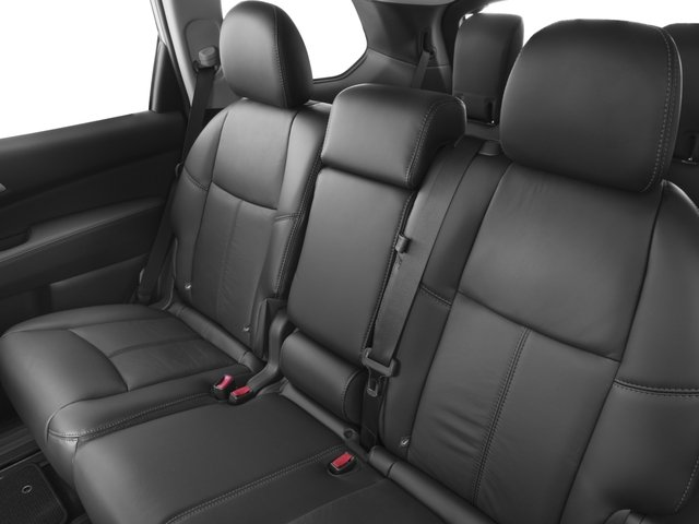 2016 Nissan Pathfinder Prices and Values Utility 4D SL 4WD V6 backseat interior