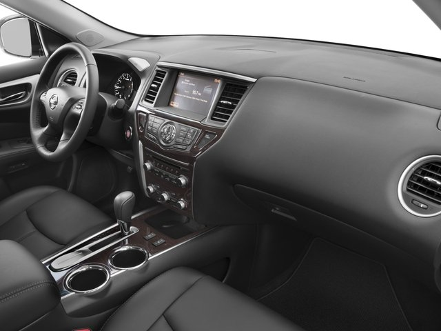 2016 Nissan Pathfinder Prices and Values Utility 4D SL 4WD V6 passenger's dashboard