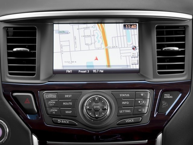 2016 Nissan Pathfinder Prices and Values Utility 4D SL 4WD V6 navigation system