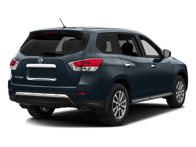 2016 Nissan Pathfinder Prices and Values Utility 4D SV 4WD V6 side rear view
