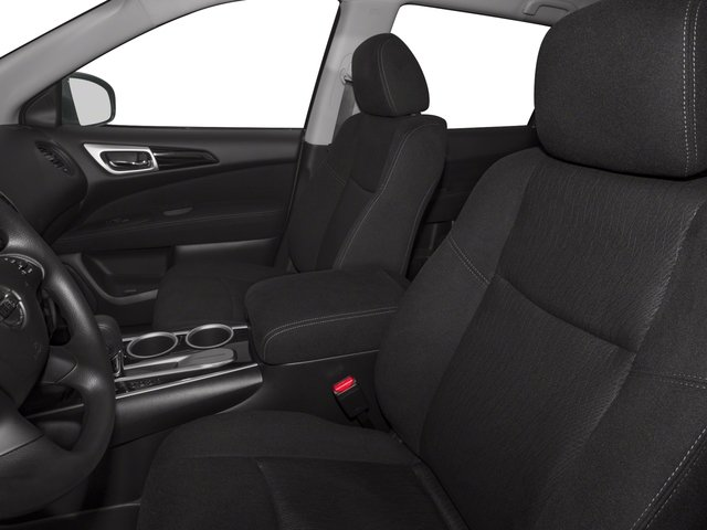 2016 Nissan Pathfinder Prices and Values Utility 4D SV 4WD V6 front seat interior