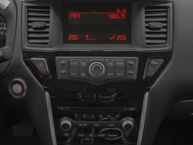 2016 Nissan Pathfinder Prices and Values Utility 4D SV 4WD V6 stereo system
