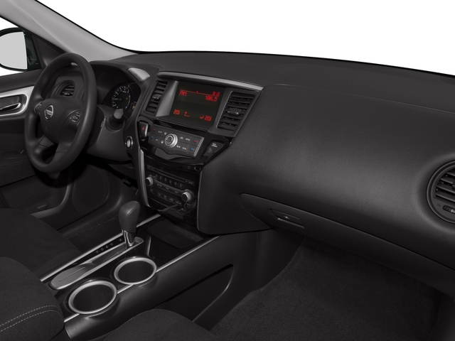 2016 Nissan Pathfinder Prices and Values Utility 4D SV 4WD V6 passenger's dashboard