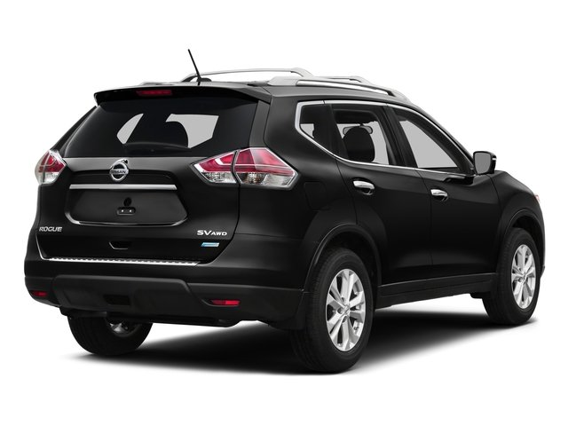 2016 Nissan Rogue Pictures Rogue Utility 4D SV AWD I4 photos side rear view