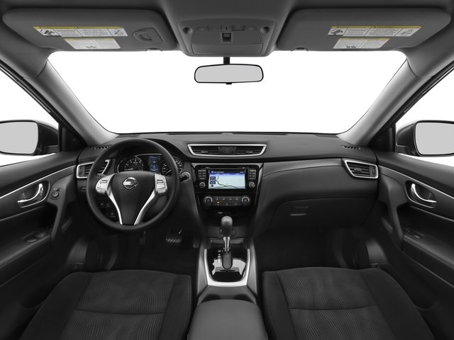 2016 Nissan Rogue Pictures Rogue Utility 4D SV AWD I4 photos full dashboard