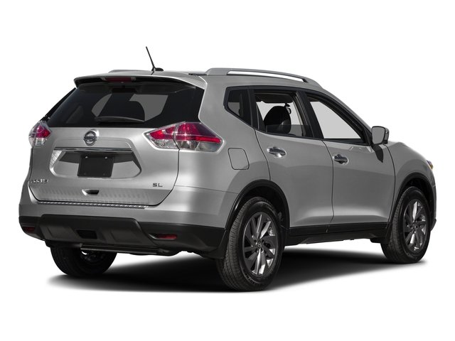 2016 Nissan Rogue Prices and Values Utility 4D SL 2WD I4 side rear view