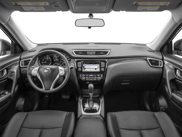 2016 Nissan Rogue Prices and Values Utility 4D SL 2WD I4 full dashboard