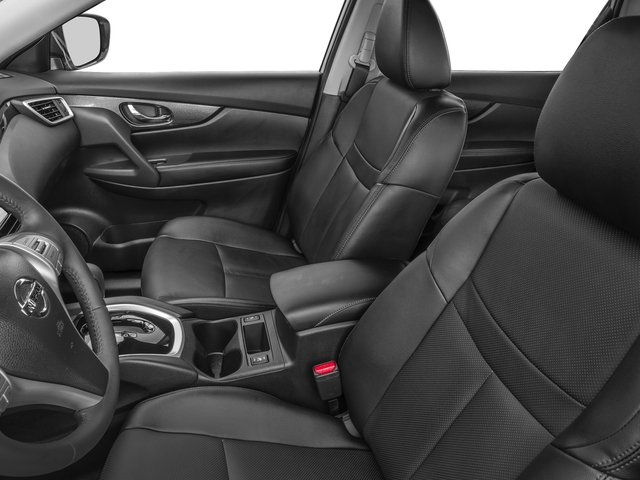2016 Nissan Rogue Prices and Values Utility 4D SL 2WD I4 front seat interior