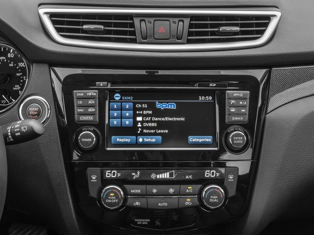 2016 Nissan Rogue Prices and Values Utility 4D SL 2WD I4 stereo system