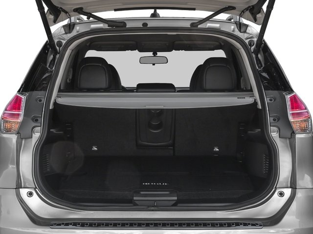 2016 Nissan Rogue Prices and Values Utility 4D SL 2WD I4 open trunk