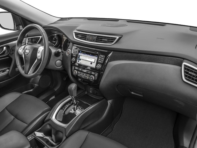 2016 Nissan Rogue Prices and Values Utility 4D SL 2WD I4 passenger's dashboard