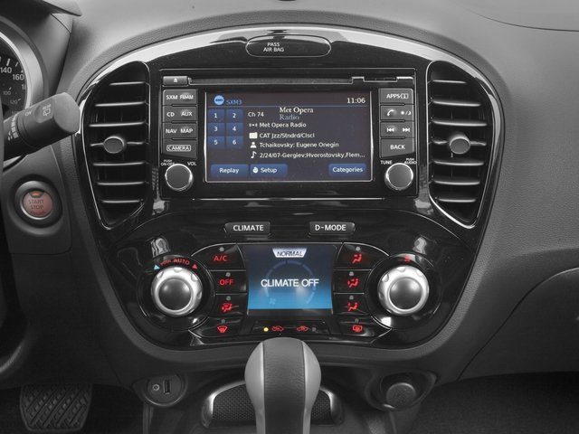 2016 Nissan JUKE Prices and Values Utlity 4D SL 2WD I4 Turbo stereo system