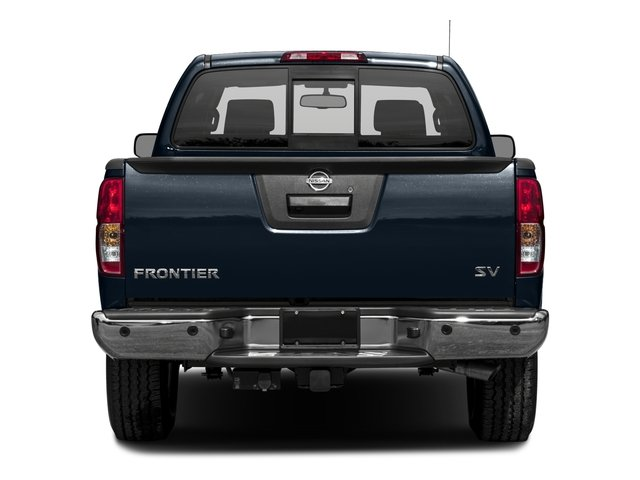2016 Nissan Frontier Prices and Values King Cab SV 4WD rear view