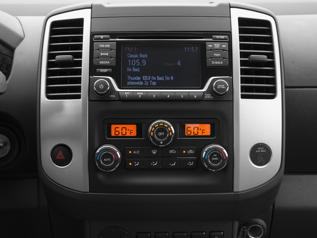2016 Nissan Frontier Prices and Values King Cab SV 4WD stereo system