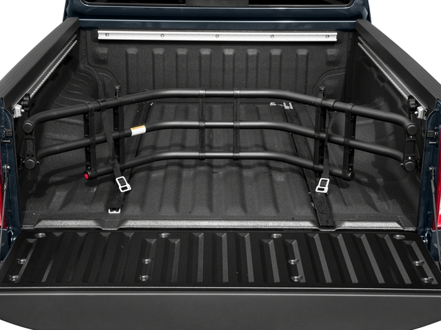 2016 Nissan Frontier Prices and Values King Cab SV 4WD open trunk