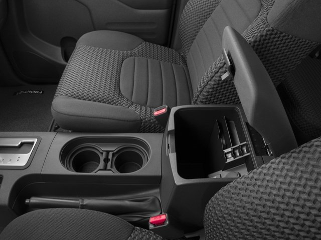 2016 Nissan Frontier Prices and Values King Cab SV 4WD center storage console