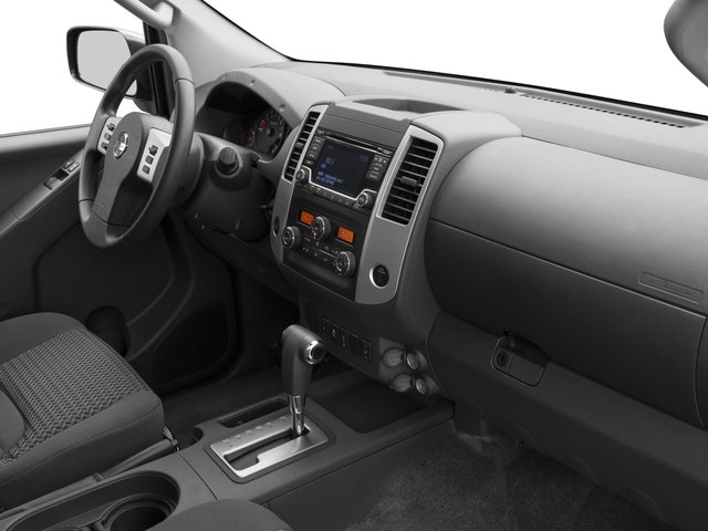 2016 Nissan Frontier Prices and Values King Cab SV 4WD passenger's dashboard