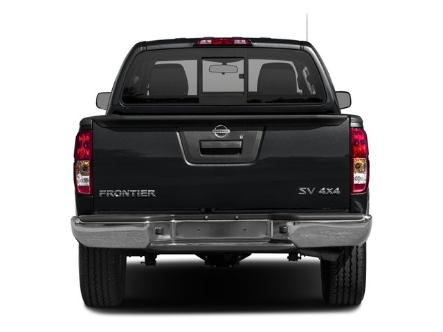2016 Nissan Frontier Prices and Values Crew Cab SV 2WD rear view