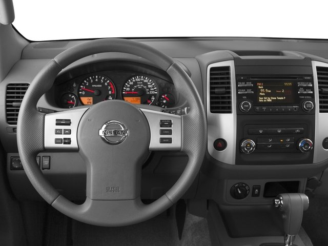 2016 Nissan Frontier Prices and Values Crew Cab SV 2WD driver's dashboard