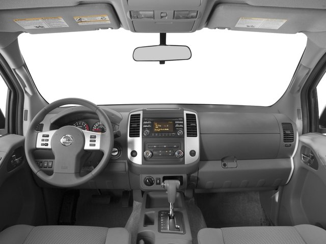 2016 Nissan Frontier Prices and Values Crew Cab SV 2WD full dashboard
