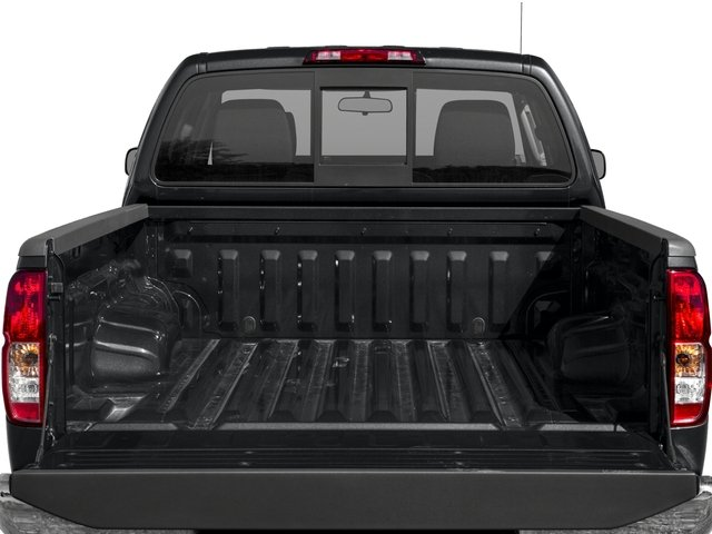 2016 Nissan Frontier Prices and Values Crew Cab SV 2WD open trunk