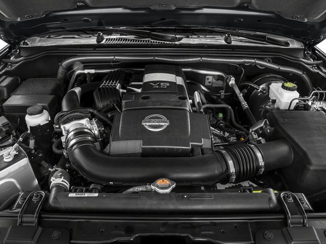 2016 Nissan Frontier Pictures Frontier Crew Cab SV 4WD photos engine