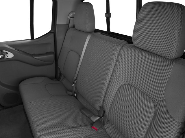 2016 Nissan Frontier Prices and Values Crew Cab SV 2WD backseat interior